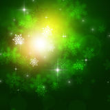 Winter Green Background Royalty Free Stock Image