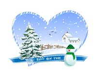 Winter Greeting card Royalty Free Stock Photography