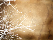 Winter Grunge Background Stock Photo