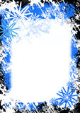 Winter grunge Hintergrund Stockbild