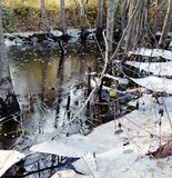 Winter-Häfen Stockbilder
