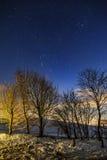 Winter am Höchstbezirk, Großbritannien Lizenzfreies Stockbild