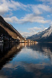 Winter Hallstatt Stock Photo