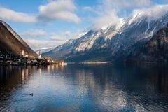 Winter Hallstatt Stock Photography