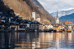 Winter Hallstatt Royalty Free Stock Photo