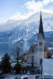 Winter Hallstatt Royalty Free Stock Photos