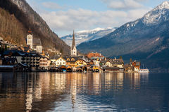 Winter Hallstatt Royalty Free Stock Photography