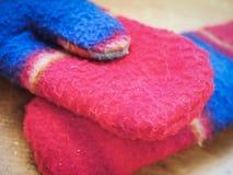 Winter-Handschuhe stockbilder