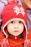 Winter happiness Royalty Free Stock Photography