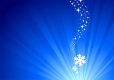 Winter has begun Stock Image