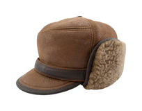 Winter hat. On white background Stock Photo