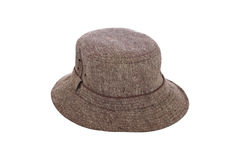 Winter hat brown Royalty Free Stock Photography