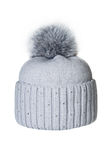 Winter hat isolated. On white background Stock Photos