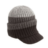Winter hat on white background Stock Photography