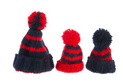 Winter hats Royalty Free Stock Photos