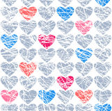 Winter Hearts. Royalty Free Stock Image