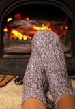 Winter heating Royalty Free Stock Images