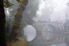 Winter-hemel over DE Zaanse Schans in Holland Royalty-vrije Stock Afbeelding