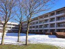 Winter in Herning, Dänemark lizenzfreies stockfoto
