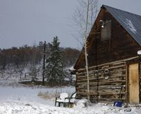 Winter hideaway Stock Images