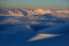 Winter, high mountains Stock Photography