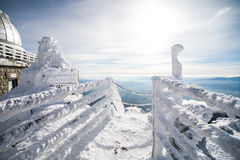 Winter in High Tatras Mountains. Stock Photos