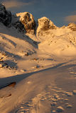 Winter in high Tatras Royalty Free Stock Images