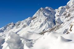 Winter in high Valtournenche. High Valtournenche - Pennine Alps - Valle dAosta Stock Image