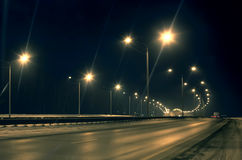 Free Winter Highway Royalty Free Stock Image - 42913076