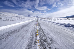 Winter Highway Royalty Free Stock Photo
