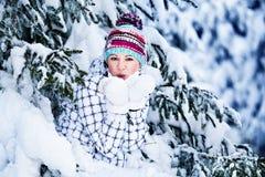 Winter hiking Royalty Free Stock Photos