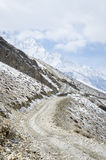 Winter Himalaya landscape Stock Photo