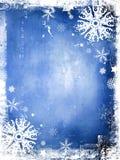 Winter-Hintergrund Lizenzfreie Stockfotografie