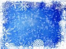 Winter-Hintergrund Stockfotografie