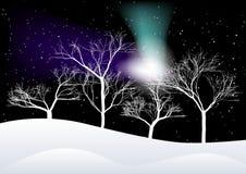 Winter-Hintergrund Stockfoto