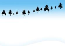Winter-Hintergrund 2 lizenzfreie abbildung