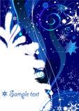 Winter-Hintergrund Lizenzfreie Stockbilder