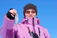Winter hobby Royalty Free Stock Photo