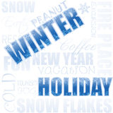 Winter holiday Stock Images