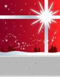 Winter Holiday. Christmas expressed as a festive and versatile graphic Royalty Free Stock Photo