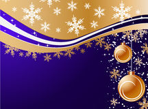 Winter holiday background Stock Photos