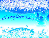 Winter holiday background Royalty Free Stock Photos