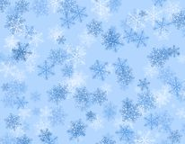 Winter/Holiday background. Snowflakes winter / holiday background illustration Royalty Free Stock Photos