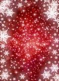 Winter holiday background Stock Image