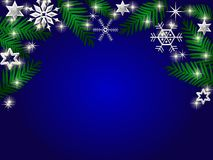 Winter Holiday  background Royalty Free Stock Images