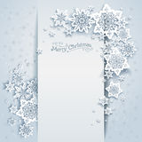 Winter holiday card Royalty Free Stock Photo