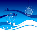 Winter holiday, christmas card Royalty Free Stock Images