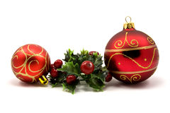 Winter holiday decoration Stock Photos