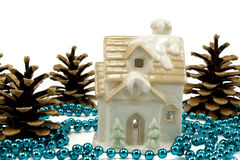 Winter holiday decoration Stock Images