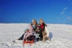 Winter holiday fun Royalty Free Stock Photos